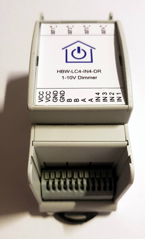 Homematic Wired 1-10V Dimmer - 0-10V Dimmer